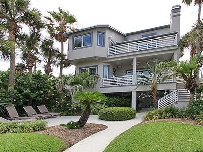 Photo for Luxury beachfront home on beautiful Gulf of Mexico!