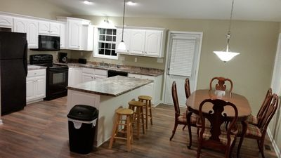 Kitchen/ Dining room.