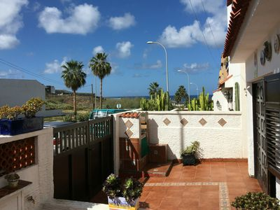 Photo for Typical Canarian villa with sea views