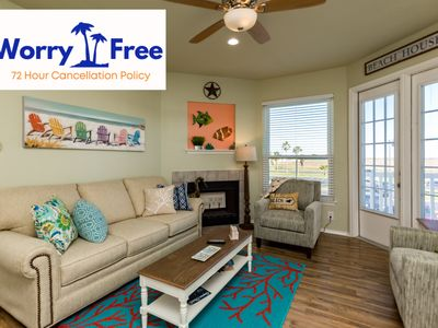 Photo for Beautiful condo, totally remodeled and just a Short Walk from the Beach