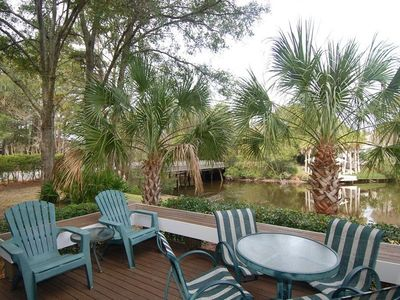 Photo for Beautiful 3 bed/3 bath Villa in Palmetto Dunes across from the Beach!