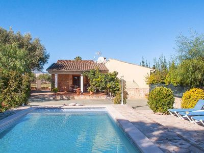 Photo for Can Buger - Cosy 3 bedroom villa with private pool and AC