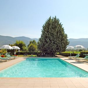 Photo for Apartment in a large farmhouse, located in Umbria, set in the countryside near t