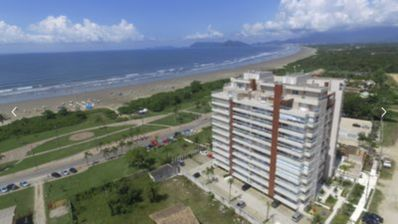 Photo for NEW APARTMENT FOOT IN THE SAND IN THE BEAUTIFUL PRAIA DO INDAIÁ IN BERTIOGA / SP !!!