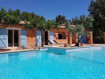 Photo for Beautiful house in estate with large pool just a few steps from Sainte Maxime
