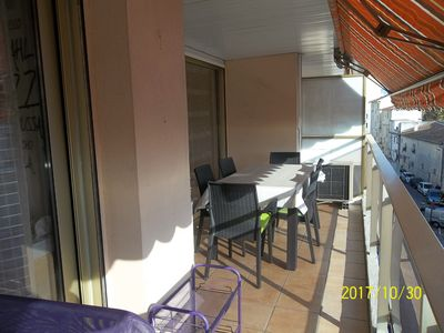 Photo for Beautiful Apartment F2, 58 m2, Residence with swimming pool.
