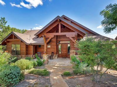 Rustic Cottage with Hill Country View at Hollow Resort, 4 Pools