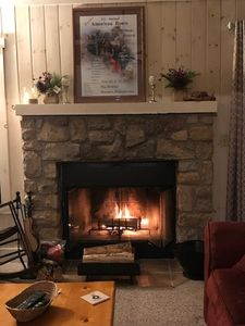 Be warm by the fire
