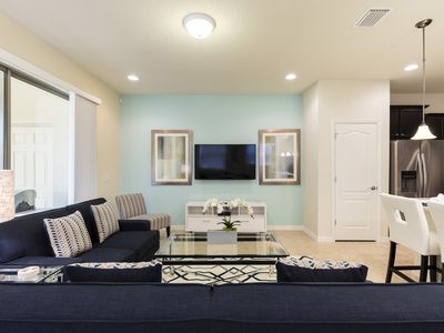 Photo for Westside Retreat | End Unit Townhome - Splash Pool and Modern Decor! Minutes from Disney
