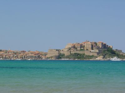 Photo for Very nice air conditioned T3 - 4/5 people - 100m from the beach of Calvi