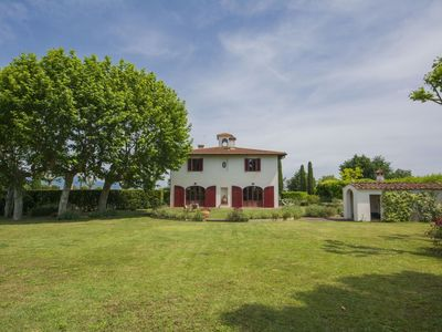 Photo for Beautiful private villa for 9 guests with WIFI, TV and parking