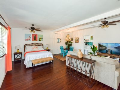Photo for Luxury Studio for 4, Completely Remodeled and only a short walk to the beach!