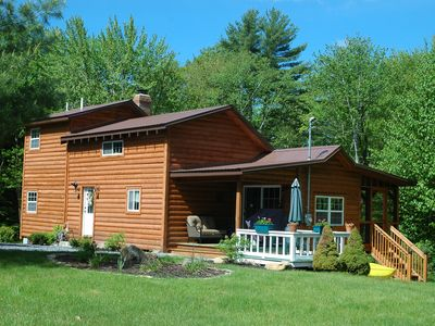 Photo for Located On A Secluded Lake But 20 Miles From Saratoga Springs Or L