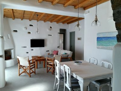 Photo for Exochi - Traditional sea view house (up to 7 persons)