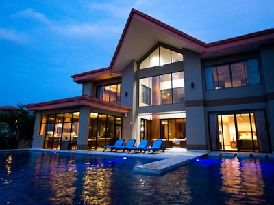 Photo for State of the Art Luxury 5 Star Villa Awesome Ocean Views, Professional Kitchen