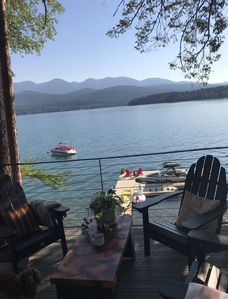 Photo for Lakefront living and that Million Dollar MT view from this amazing WF home!