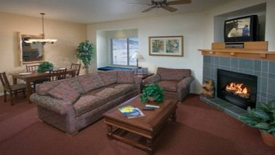 Photo for Luxury 1 bdrm condo @ Wyndham Resort. Free Shuttle to Ski Time Square!