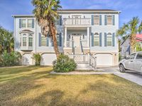 Beautiful home just steps from the beach access.