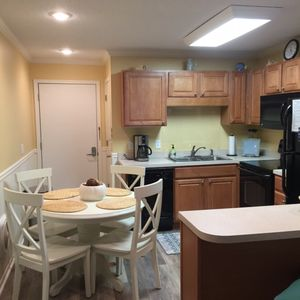 Kitchen with New Flooring 2017!