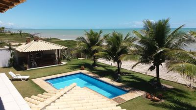 Photo for Excellent 6 Bedroom House with Pool Facing the Beach!