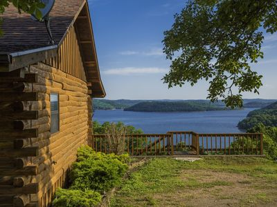 Photo for Lake Shore Cabin on Beaver Lake with Boat Dock & Swim Deck