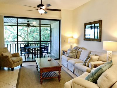 Photo for Newly Renovated Condo in Wild Pines! - Private beach, next to pool, bikes!
