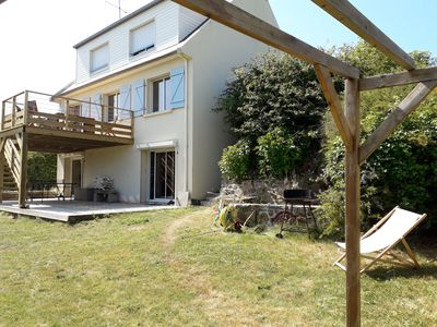 Photo for 50m beach - comfortable - 12 beds - weekends available