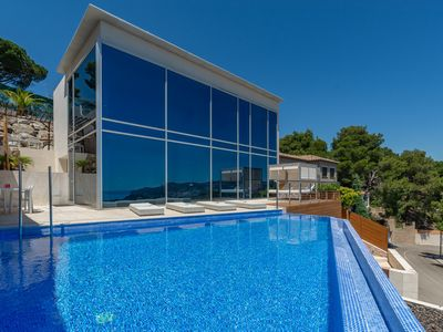 Photo for Villa Zen - luxurious modern villa with AC, sea vi