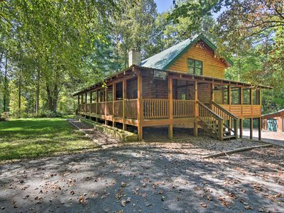 Photo for 3BR Cabin Vacation Rental in Brevard, North Carolina