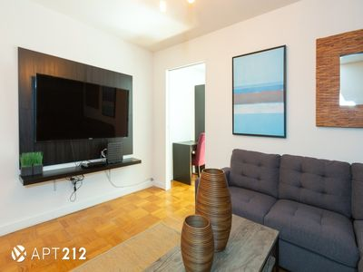 Photo for Apartment 1.4 km from the center of New York with Internet, Air conditioning (983348)