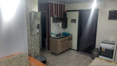 Photo for Complete Kitnet in Concordia (bwc, coz, bedroom, living room, tv)