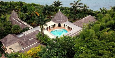 Photo for 7 bd staffed villa with pool and panoramic views in Montego Bay