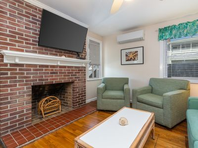 Photo for Downtown condo w/ a furnished patio - close to the beach & historic boardwalk