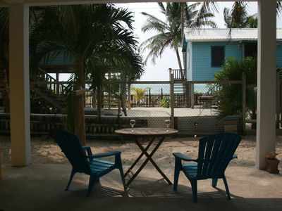 Photo for The Gumbo Limbo Studio - Ocean view and breeze on the reef side of Caye Caulker