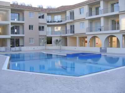 Photo for Luxury Apartment With Large Balcony, Pool/Jacuzzi, FREE WIFI And Sea Views