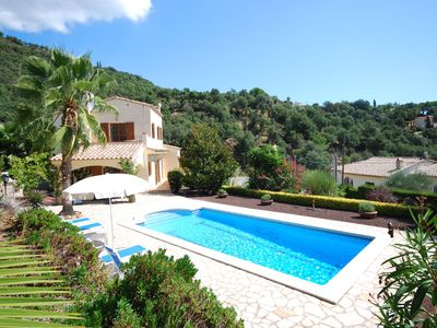 Photo for Beautiful detached villa with private pool, near villages and beautiful bays