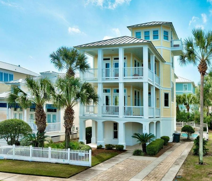 Panhandle Beach House Rentals: Athena: Private Pool, Private Beach Access, Located In