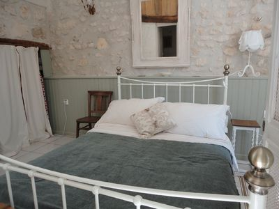 Get a good night's sleep in the comfortable large double bed.....