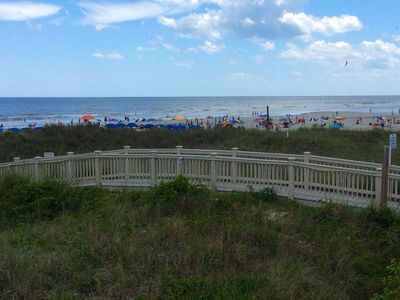Photo for 2BR/2BA Oceanfront -10th Floor- Bright & Beachy! Just Updated for 2020!
