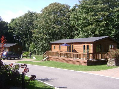 Photo for Modern Lodge Situated In a Quiet Tree-Lined Development. Access To A Shared Pool