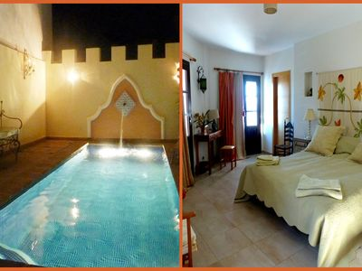 Photo for Contemporary, superbly equipped, panoramas, comfort, solar heated private pool