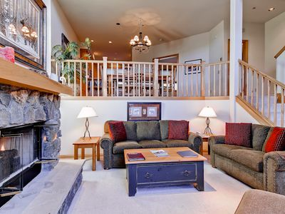 Photo for 3 Bedroom Plus Den Townhome w/Private Deck for Summer Views, Access To Hot Tubs & More!