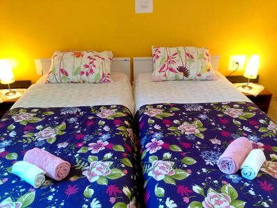 Photo for Room for two with private bathroom, two steps from the sea, Zambratija, WiFi, parking