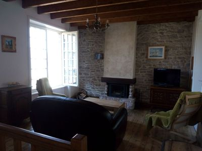 Photo for Charming house, quiet, close to the beach and the center