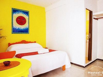 Photo for Comfortable Mexican rooms in Playa del Carmen  Hostael 54