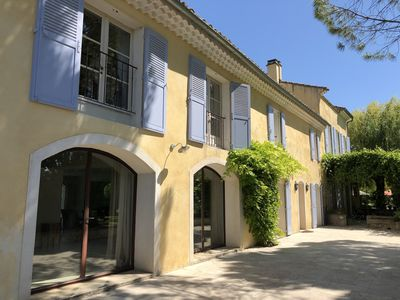 Photo for 19th century Mas (renovated) - vineyard in Provence