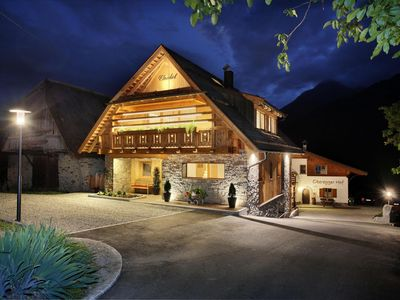 Photo for Chalet Obereggerhof.  For demanding extended families on the outskirts of Scena.