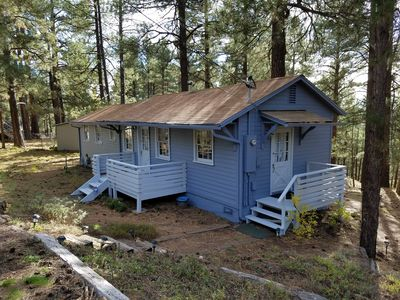 Photo for Cabin in the beautiful pines
