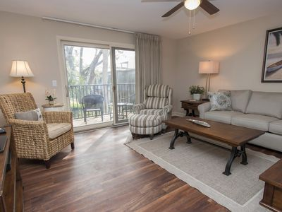 Heated Pool, Sun Deck,  Just steps to the beach and close to Coligny Plaza
