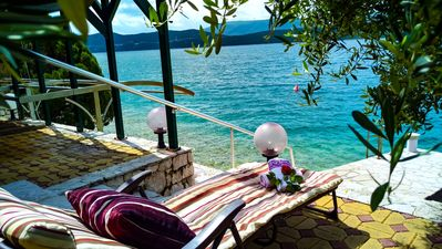 Photo for Villa Borak peaceful oasis directly by sea